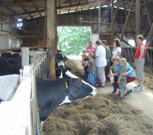 Lernen auf dem Bauernhof