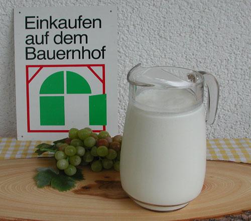Frischmilch (Rohmilch)