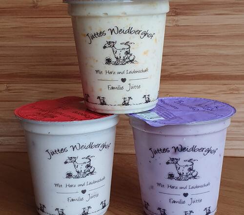 Joghurt vom Bauernhof kaufen