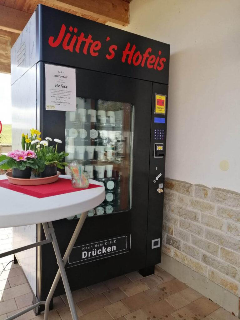 Jütte Eisautomat - Selbstgemachtes Eis